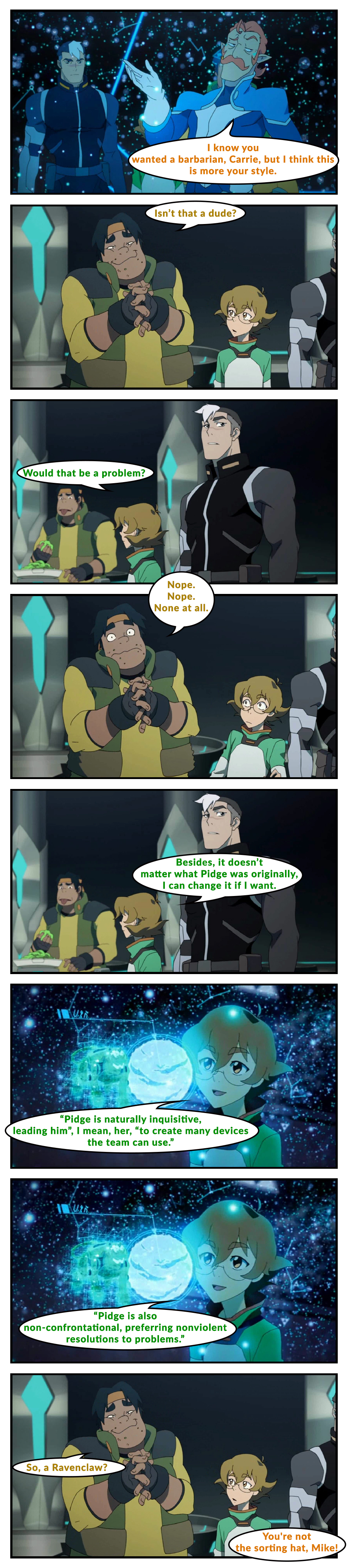 Pidge the Pitiless